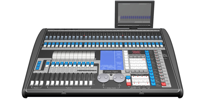Corporate event lighting console hire